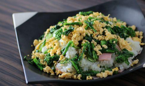 菜の花の洋風ちらし寿司