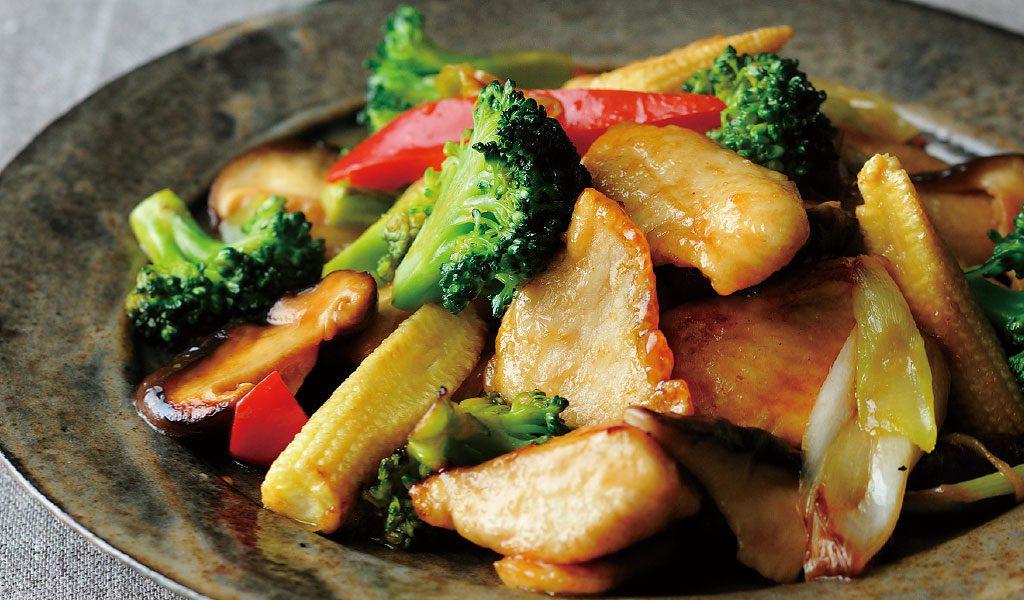 中華風の味つけも簡単なんです!鶏胸肉とブロッコリー炒め